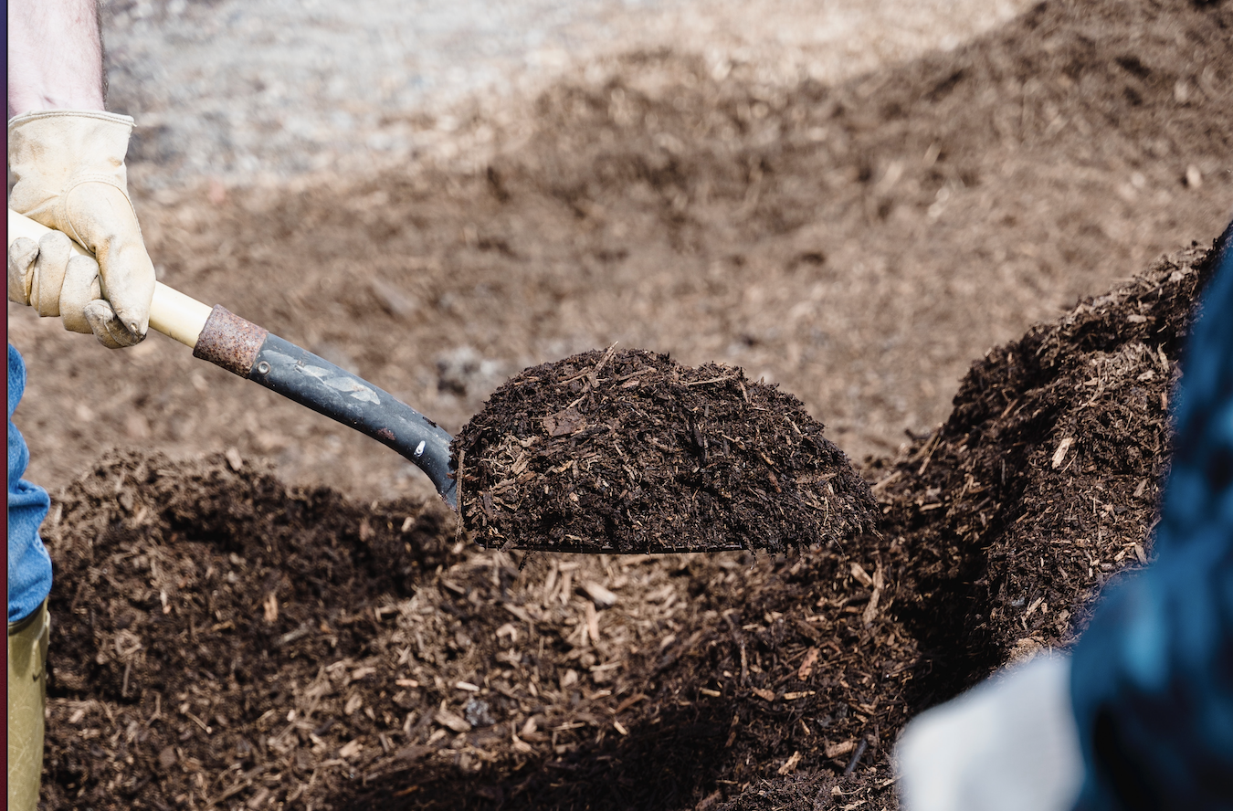 Compost los gestort per kuub